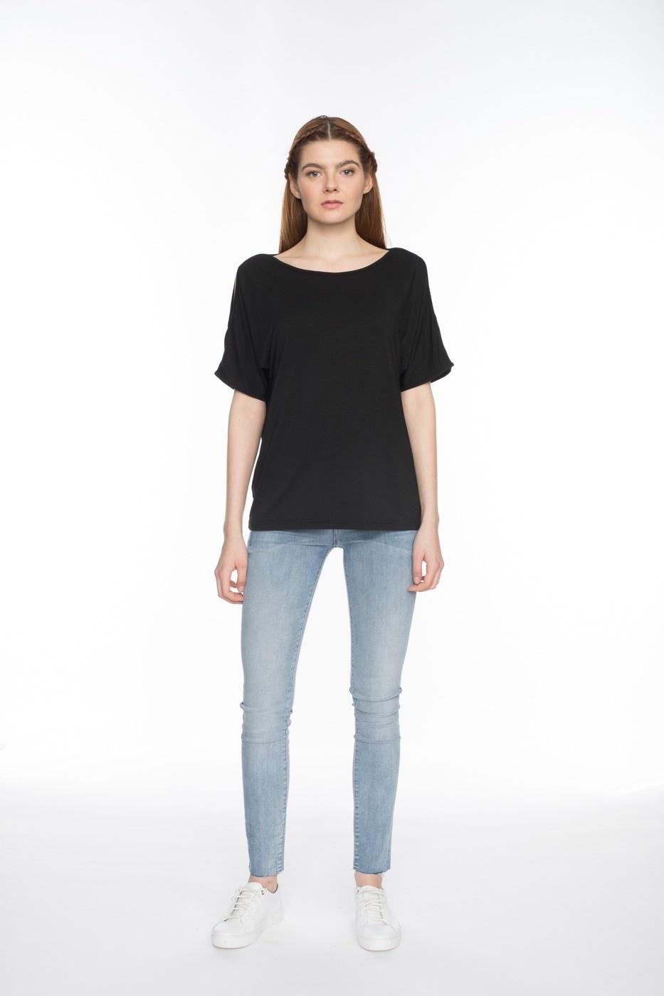 Shirt Rosaria zwart
