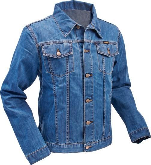 Jeans retro jas, classic denim