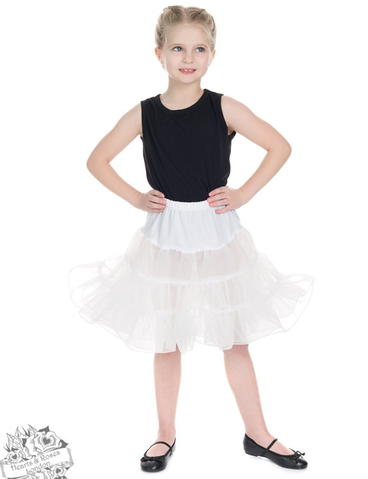 Kinderpetticoat, wit