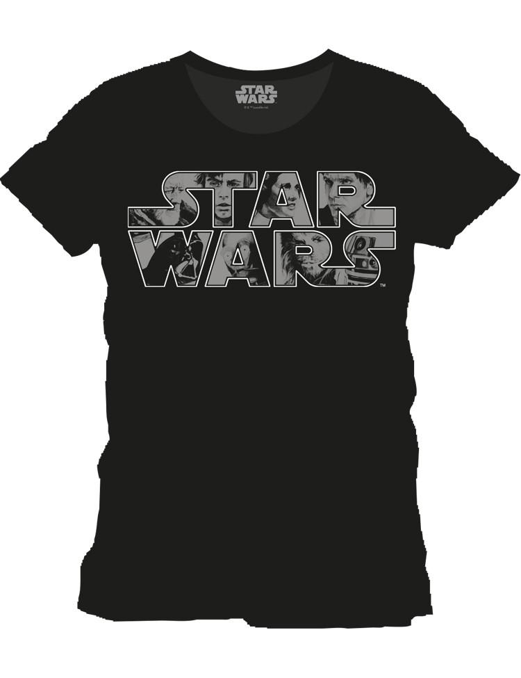 T-shirt Star Wars Characters