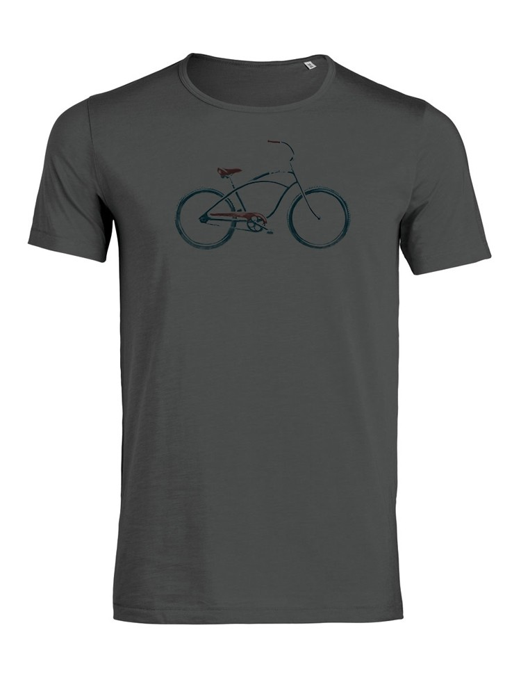 T-shirt Beach Cruiser Anthracite