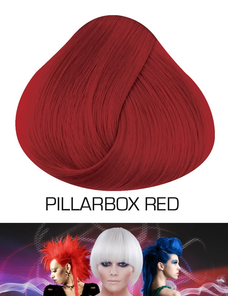 Semi Permanente Haarverf Pillarbox Red