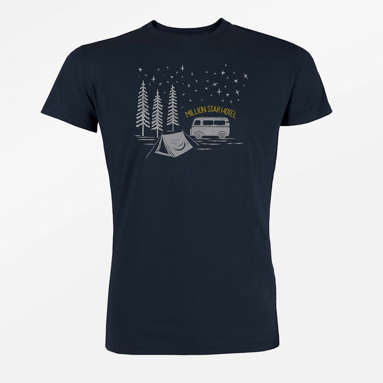 T-shirt Nature Million Star, navy