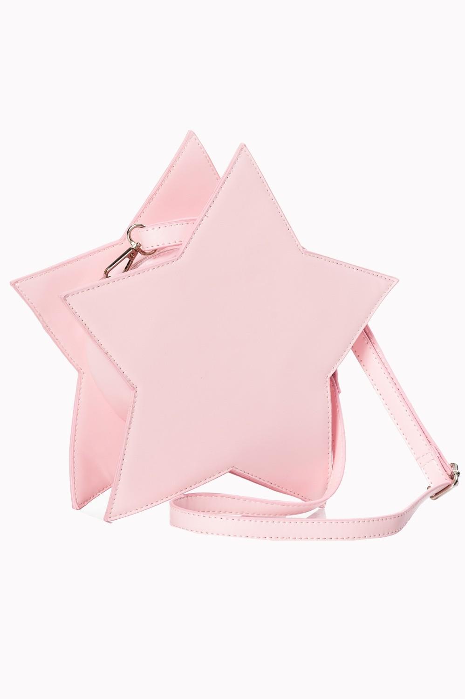 Handtas Celeste, roze ster