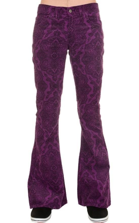 Ribcord broek, Jimi Hendrix paarse Paisley