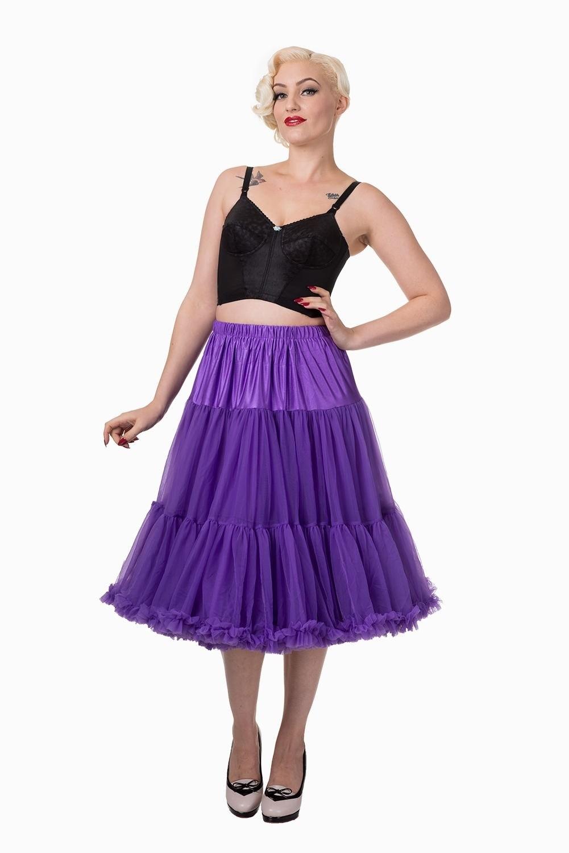 Petticoat Lifeforms Kuitlang met extra volume, paars
