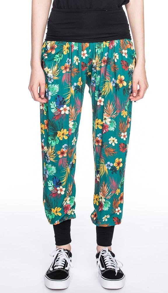 Relax broek, Purzellinchen tropische print