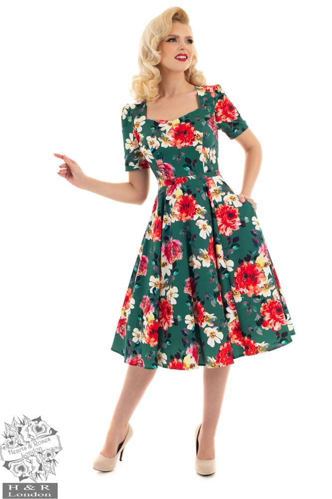 Hearts & Roses, Swing jurk Pamela