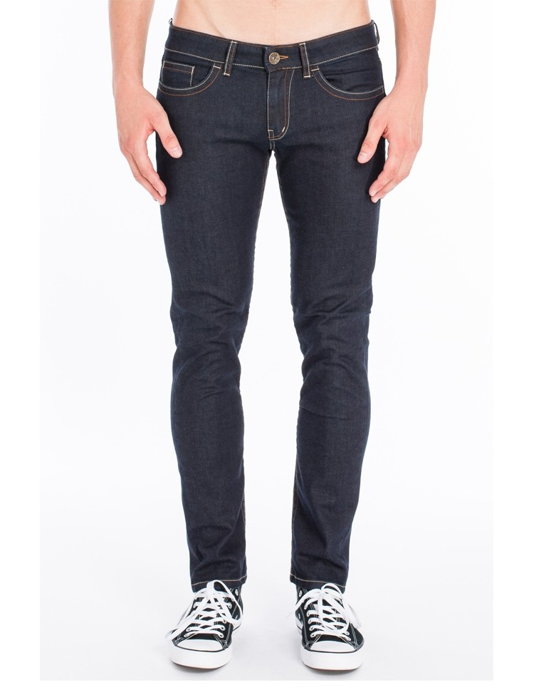 Jeans Slim Fred Donkerblauw