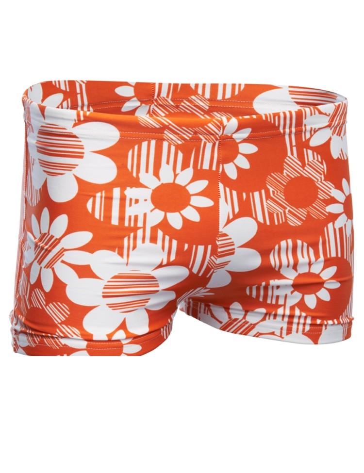 Zwembroek Flowers Orange