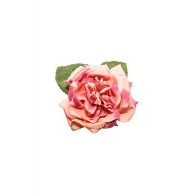 Foto van Haar clip Garden rose dusty pink