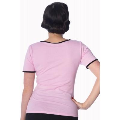 Foto van T-Shirt Diner pink