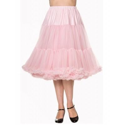Foto van Petticoat Lifeforms lang met extra volume Licht Roze