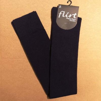 Foto van Flirt | Overknee sokken donkerblauw