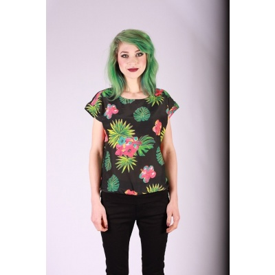 Foto van Shirt Leo tropical print