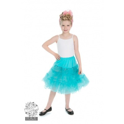 Kinderpetticoat, baby blue