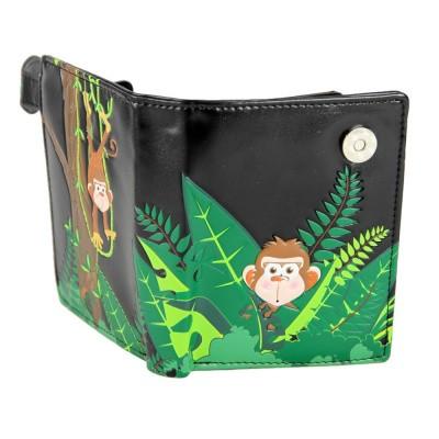 Foto van Portemonnee jungle monkey