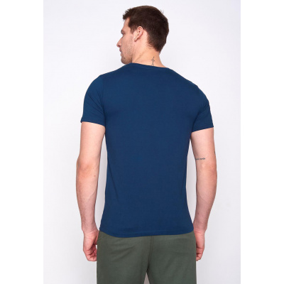 Foto van Green Bomb | T-shirt Bike Badger, bio katoen navy blauw
