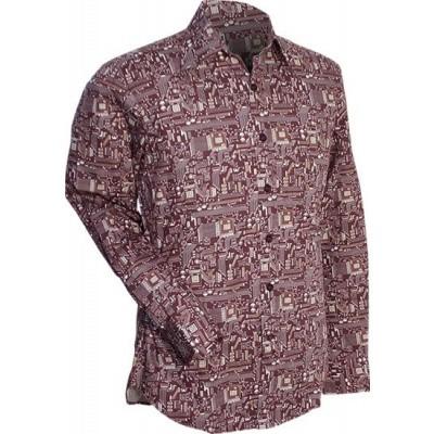 Overhemd retro, Wiring bruin