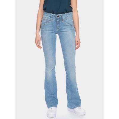 ATO Berlin | jeans Karlie, extra lichte denim met wijde pijp