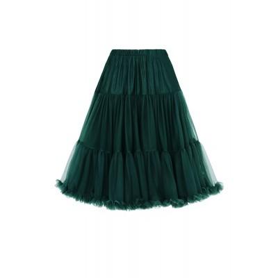 Foto van Petticoat Lifeforms Kuitlang met extra volume, bottle green