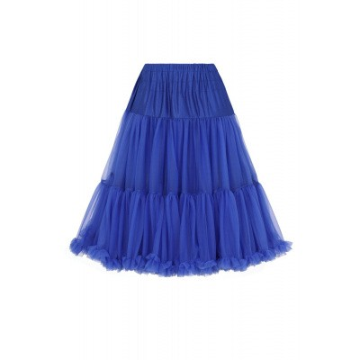 Petticoat Starlite over de knie met extra volume, royal blue