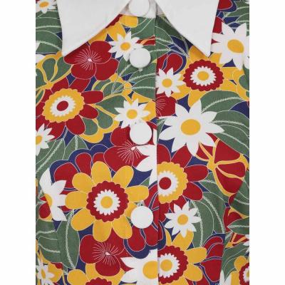 Foto van Collectif | Jurk 60's Nia Tropical met bloemenprint