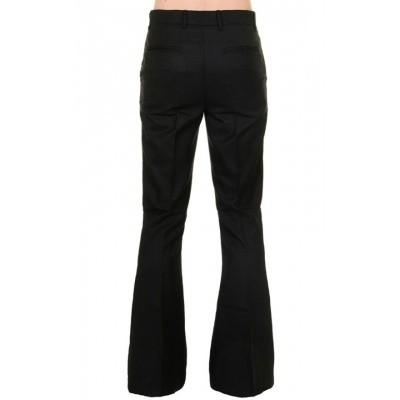 Foto van Pantalon 60s 70s wijde pijpen zwart