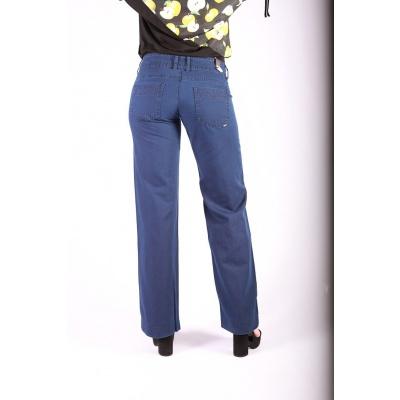 Foto van Pantalon Lilia, retro blauw, Ato-Berlin