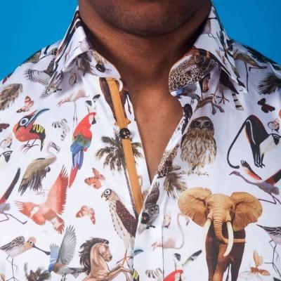 Foto van Overhemd met lange mouw, Animal kingdom