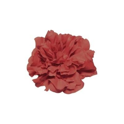 Foto van Haarclip, rode pioen roos