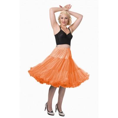 Foto van Petticoat Lifeforms Kuitlang met extra volume, oranje