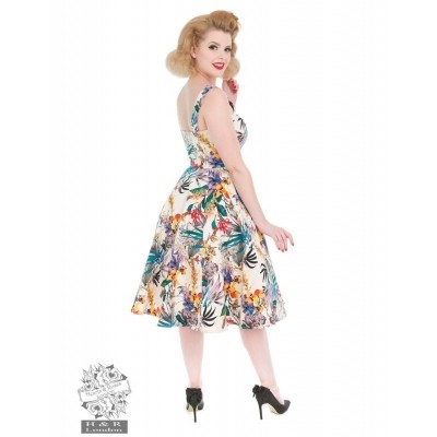 Foto van Jurk Pansies Floral Swing Dress
