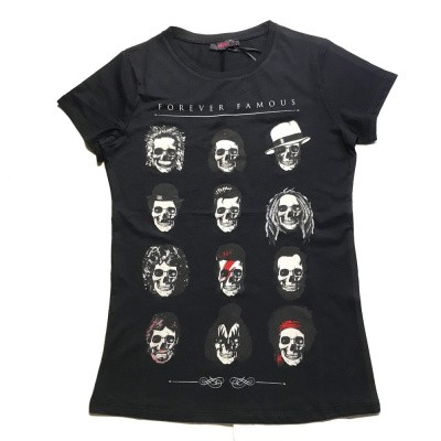 Foto van T-shirt Forever famous, zwart