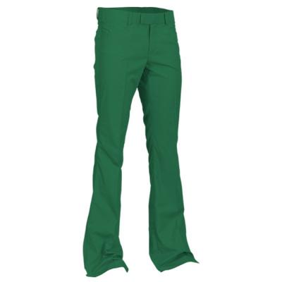Chenaski | Pantalon met uitlopende pijp groen