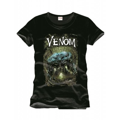 T-shirt Spiderman Venom Sewer
