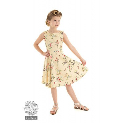 Hearts and Roses, kinderjurk Bridget swing bloemen print