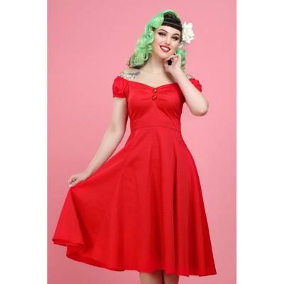 Foto van Jurk Dolores Doll, rood
