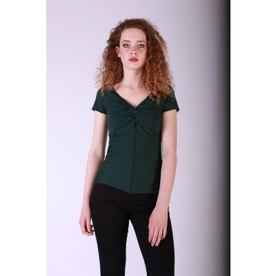 Shirt Angie Donkergroen Organic Cotton
