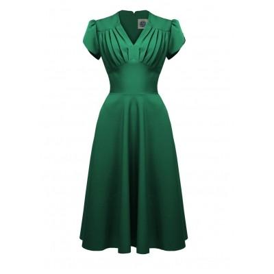 Foto van Jurk Retro 50s Swing Emerald