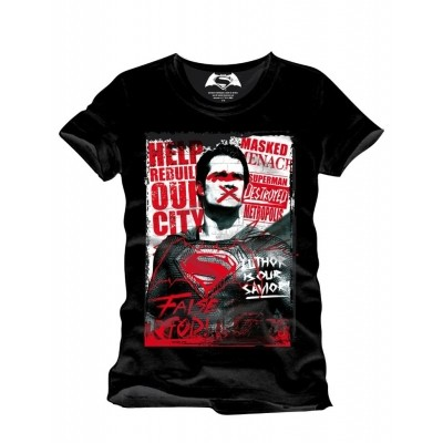 Foto van T-Shirt Superman Anti Hero