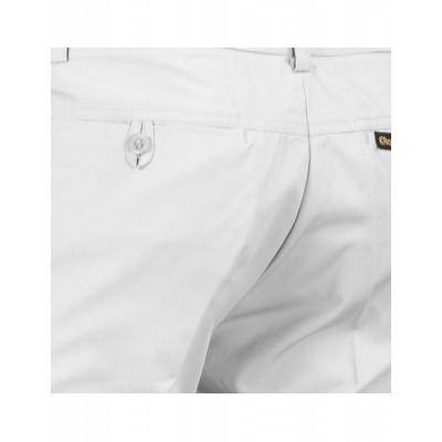 Foto van Chenaski | Pantalon wit met uitlopende pijpen