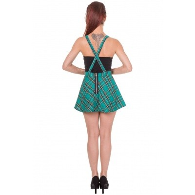 Foto van Rok Pinafore highlife,forest tartan