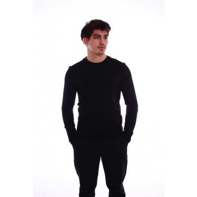Foto van Shirt met lange mouw Nils zwart