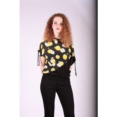 Shirt Mona appel print