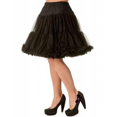Foto van Petticoat Walkabout Knielang met extra volume Zwart
