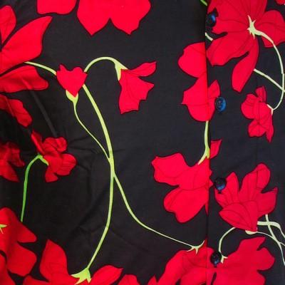 Foto van Overhemd korte mouw, Poppy zwart