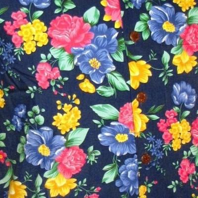 Foto van Overhemd korte mouw, super bright flowers