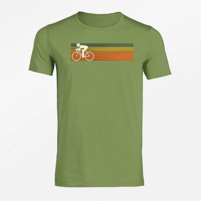 Foto van T-shirt Bike Speed, lichtgroen