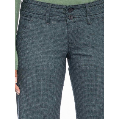 Foto van ATO Berlin | Pantalon Lilia met fijn groen grijs ruitje